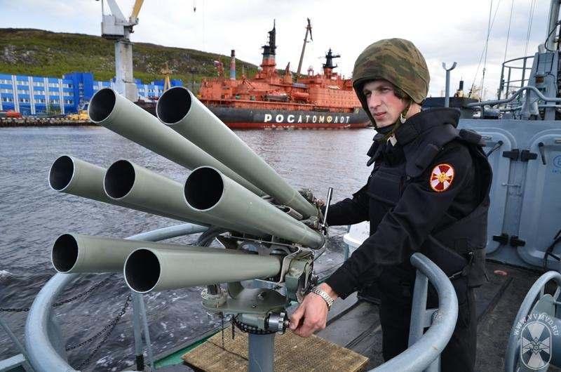 Морские части внутренних войск