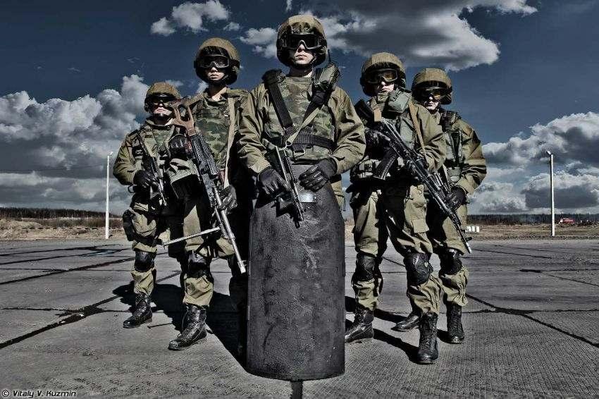 Спецназ внутренних войск МВД России