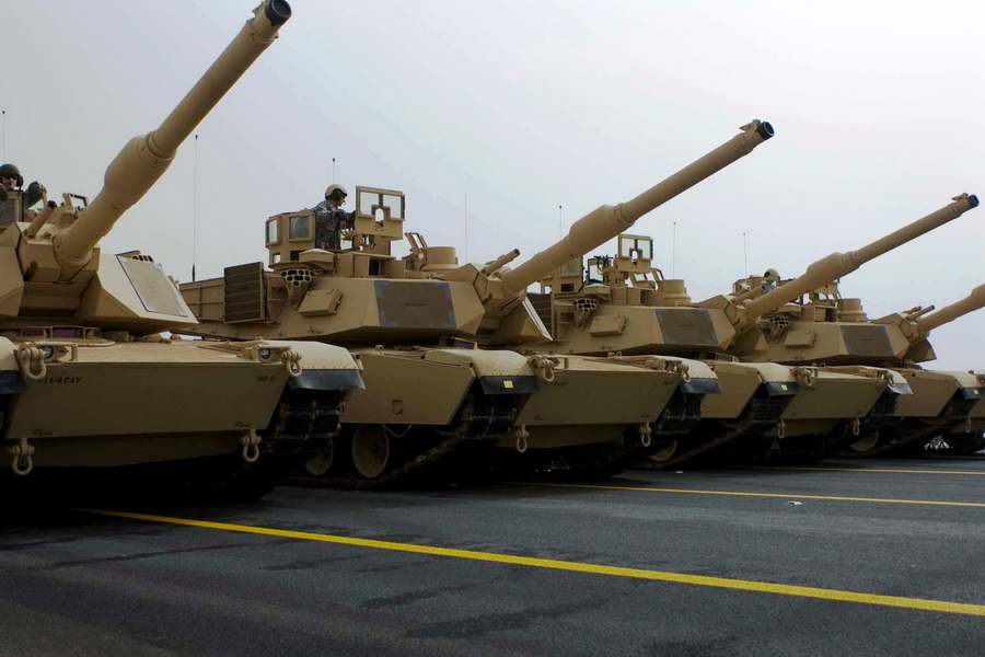 Военная техника американской армии