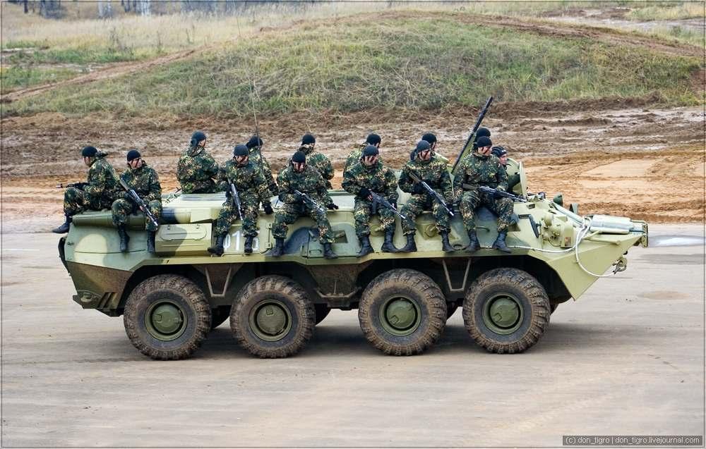 Вооружение внутренних войск МВД России