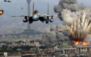 Воздушные удары по объектам Игил