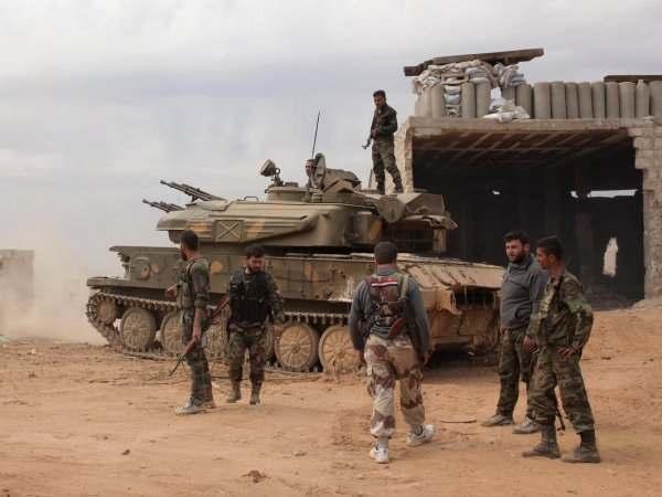Сирия взяла Пальмиру