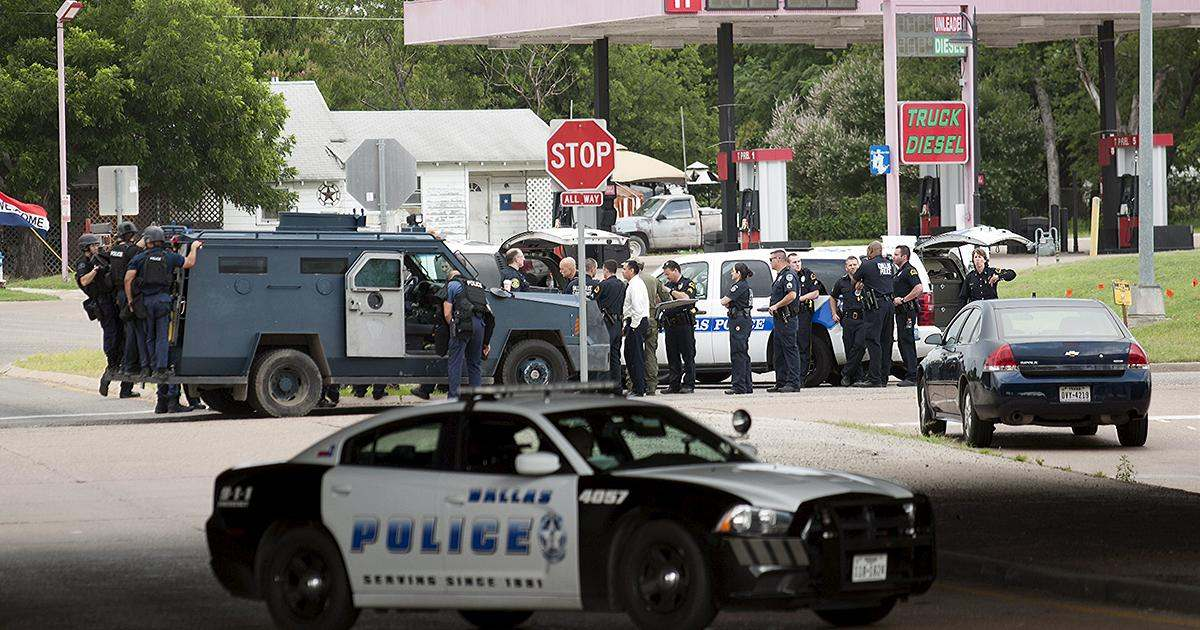 В США убиты полицейские